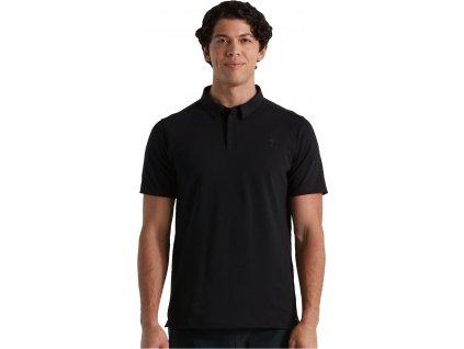SPECIALIZED Men's Legacy Polo Black