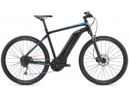 GIANT EXPLORE E+ 4 GTS BLACK/BLUE 2020 (Veľkosť: XL)