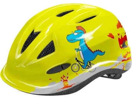 R2 Lucky Neon Yellow/Grey/Blue Glossy