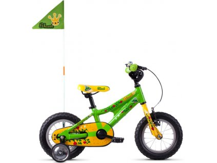GHOST POWERKID 12 RIOT GREEN/CANE YELLOW/RIOT RED 2020