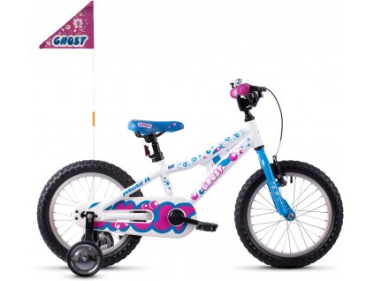 GHOST POWERKID 16 STAR WHITE/RIOT BLUE/DARK FUCHSIA PINK 2020
