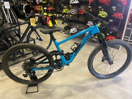 SPECIALIZED Enduro Comp Gloss Aqua/Flo Red/Satin Black Test Bike 2020