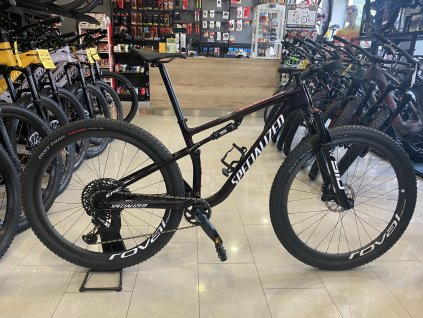 SPECIALIZED Epic Expert Gloss Red Tint/White Gold Ghost Pearl Test Bike 2021