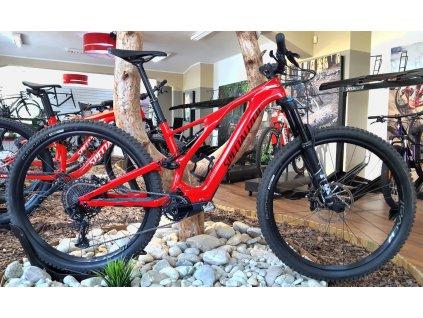 SPECIALIZED Turbo Levo SL Comp Carbon Flo Red Black Test Bike 2021