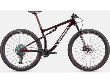 SPECIALIZED S-Works Epic - Speed of Light Collection Gloss Satin Red Tint Chameleon/White