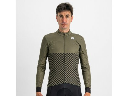 SPORTFUL Checkmate Thermal Jersey Beetle Black