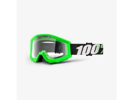 100% STRATA Goggle Arkon - Clear Lens OKULIARE