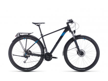 CUBE AIM SL ALLROAD BLACK-N-BLUE 2020