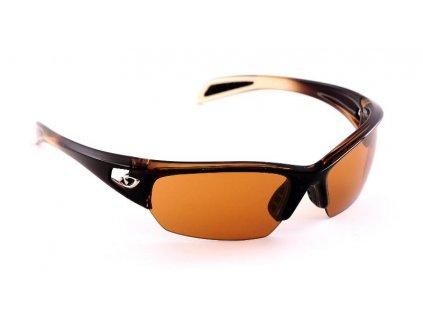 Okuliare Giro Semi Gloss White/ Brown Bronze 26