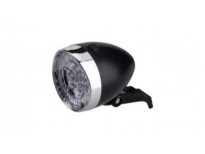 Osvetlenie Predné CTM Sandra 3Led Batériové S Držiakom Čierne