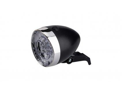 Osvetlenie Predné CTM Retro Ii 3 Led Batériovébez Držiaka Čierne