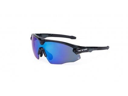 Okuliare CTM Testa Čierna/Modrá