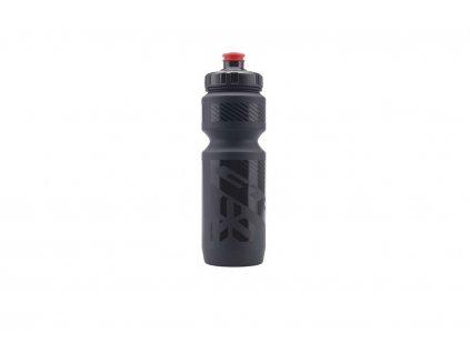 Fľaša CTM Trice 0.8 L - Čierna/Čierne Logo