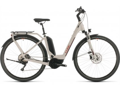 CUBE TOURING HYBRID PRO 500 GREY-N-RED 2020