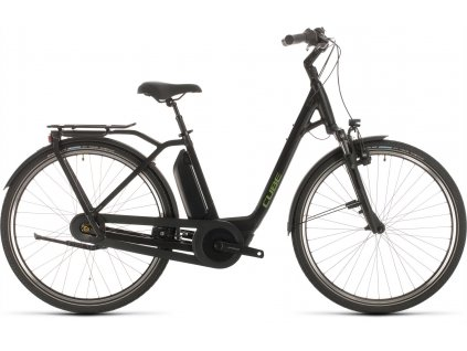 CUBE TOWN HYBRID PRO RT 500 BLACK-N-GREEN 2020