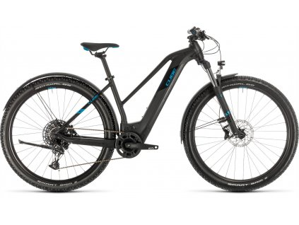 CUBE REACTION HYBRID EX 500 ALLROAD 29 BLACK-N-BLUE 2020