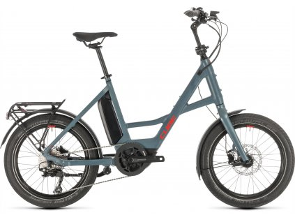 """CUBE 20"""" COMPACT SPORT HYBRID BLUE-N-RED 2020"""