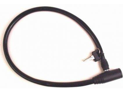 Zámok AUTHOR Acl-04 6x600 Kľúč Čierny
