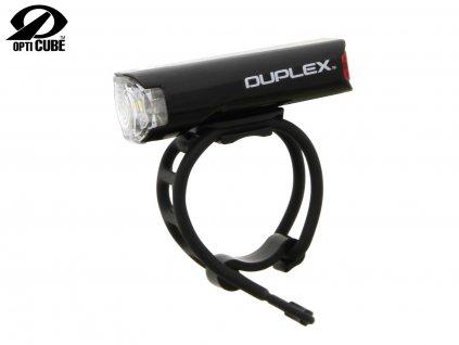 Svetlo Predné CATEYE Sl-Ld400 Duplex Čierna