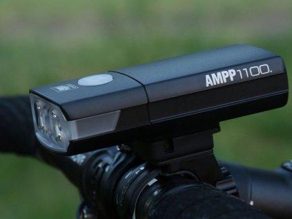 Svetlo Predné CATEYE Hl-El1100Rc Ampp1100 Čierna