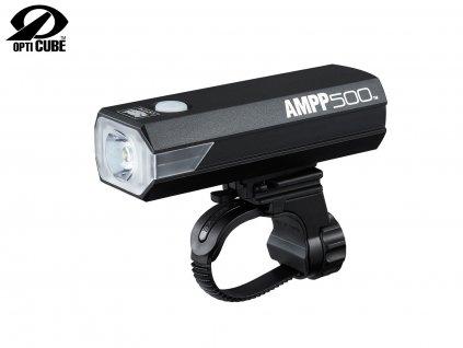 Svetlo Predné CATEYE Hl-El085Rc Ampp500 Čierna