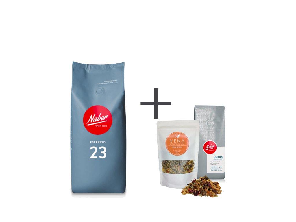 Naber Kaffee Espresso 23 dárek
