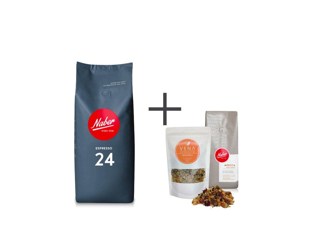 Naber Kaffee Espresso 24 dárek
