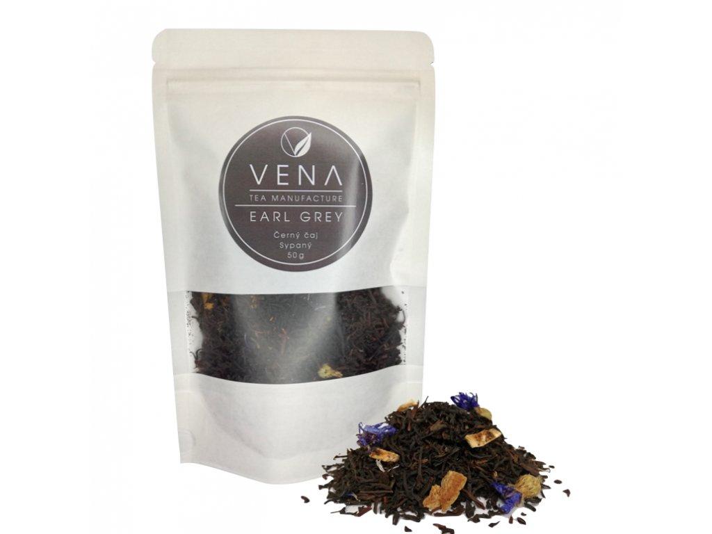 Earl grey - černý čaj - venashop.cz