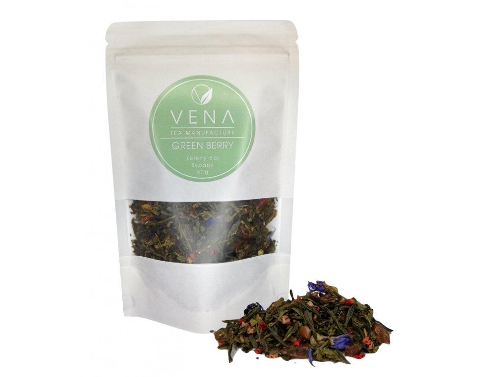 Green berry - zelený čaj -  venashop.cz
