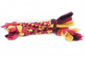 Pletená fleece hračka