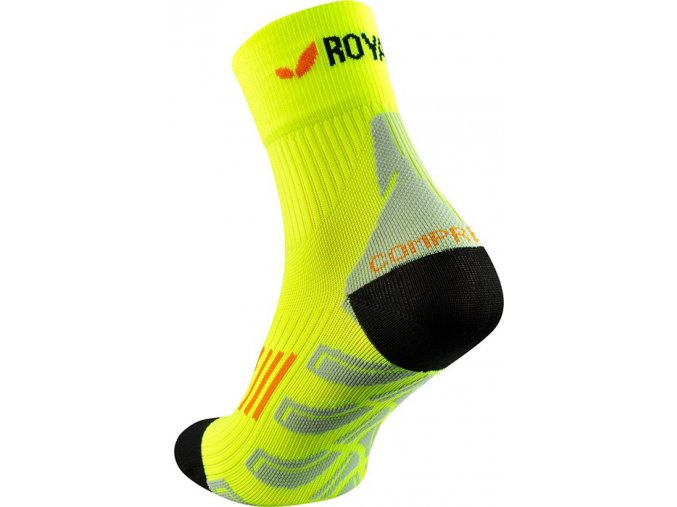 royal bay neon high cut socks neon yellow 1