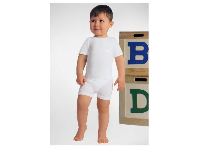 Tričko s krátkým rukávem z mléčného vlákna