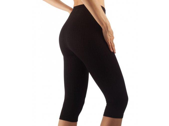 Masážní kalhotky pod kolena, stříbrné vlákno