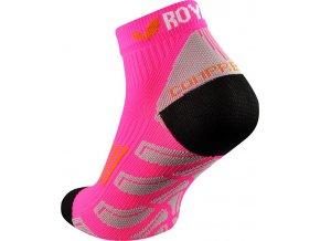royal bay neon low cut socks neon pink