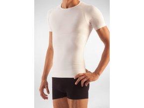 Pánské zeštíhlující tričko s krátkým rukávem