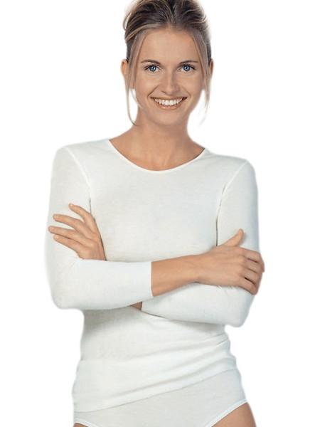 Medima Dámské termotriko s dlouhým rukávem Barva: Bílá, Velikost: M