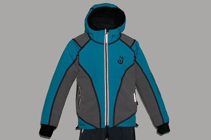 O.K. SPORT Dětská bunda SPIRIT volnějšího střihu s kapucí (2 barvy) Barva: Sv.modrá, Velikost: 80