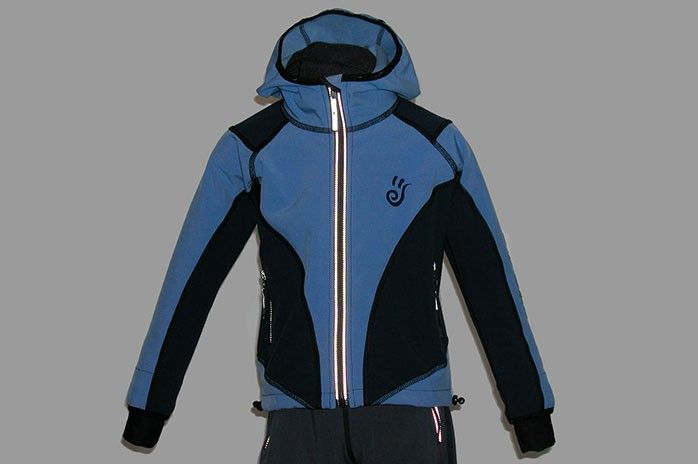 O.K. SPORT Dětská bunda SPIRIT volnějšího střihu s kapucí (2 barvy) Barva: Tm.modrá, Velikost: 86