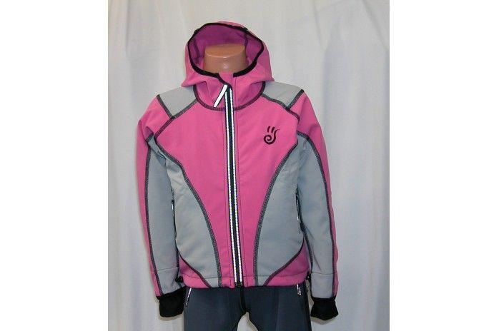O.K. SPORT Dětská bunda SPIRIT volnějšího střihu s kapucí (2 barvy) Barva: Růžová, Velikost: 86