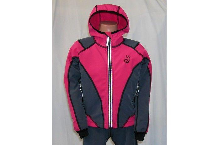O.K. SPORT Dětská bunda SPIRIT volnějšího střihu s kapucí (2 barvy) Barva: Tyrkys, Velikost: 86