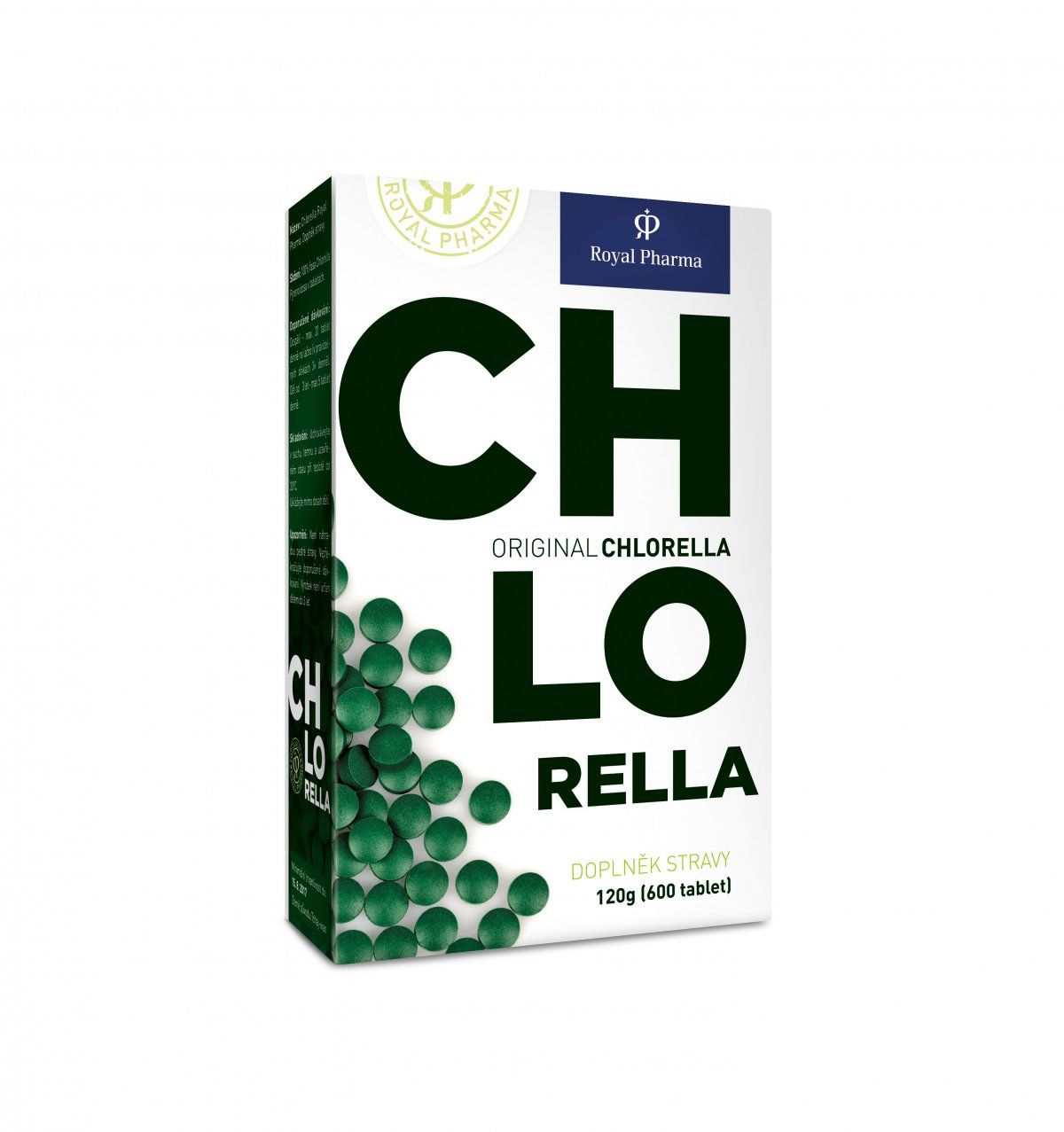 Chlorella Royal Pharma Počet tablet: 250 tablet
