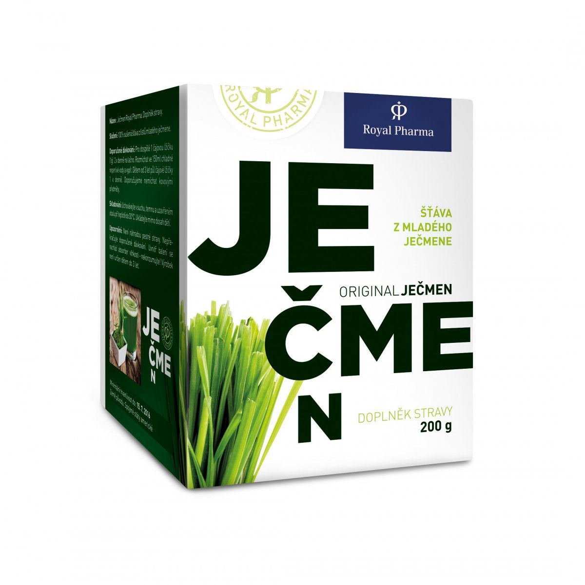 Ječmen Royal Pharma Gramáž: 200g