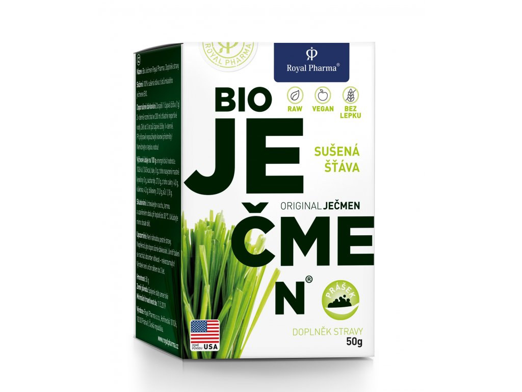Ječmen Royal Pharma Gramáž: 50g