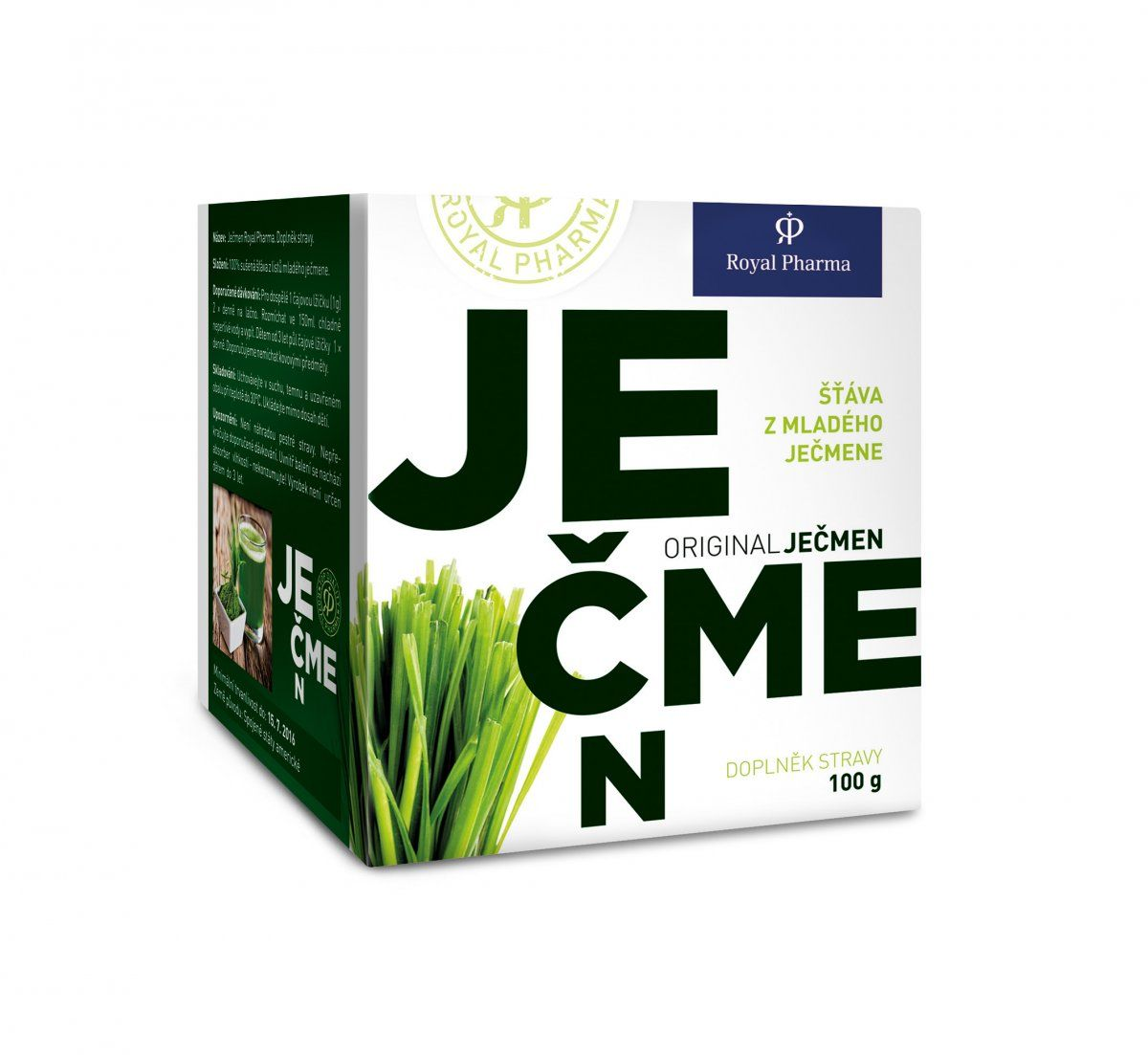 Ječmen Royal Pharma Gramáž: 100g
