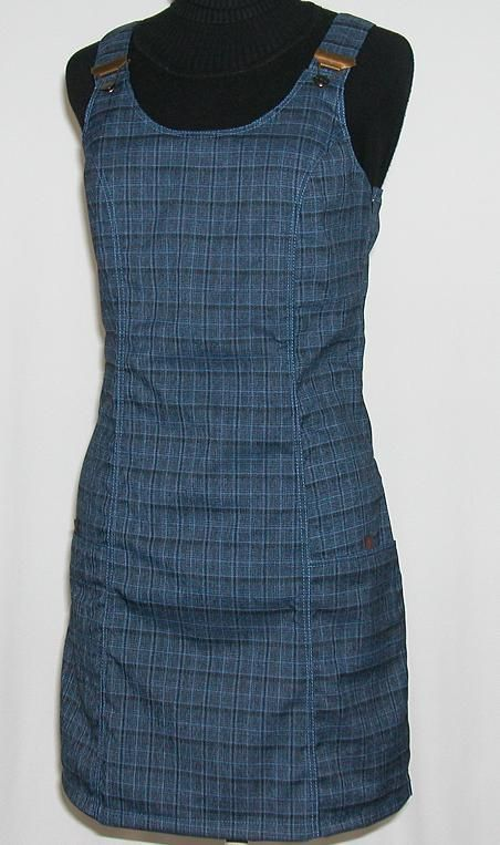 O.K. SPORT Dámské šaty Nepál (Polyester) Barva: Modrá, Velikost: XS