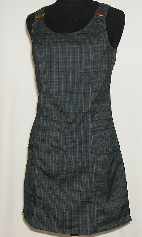 O.K. SPORT Dámské šaty Nepál (Polyester) Barva: Šedá, Velikost: S