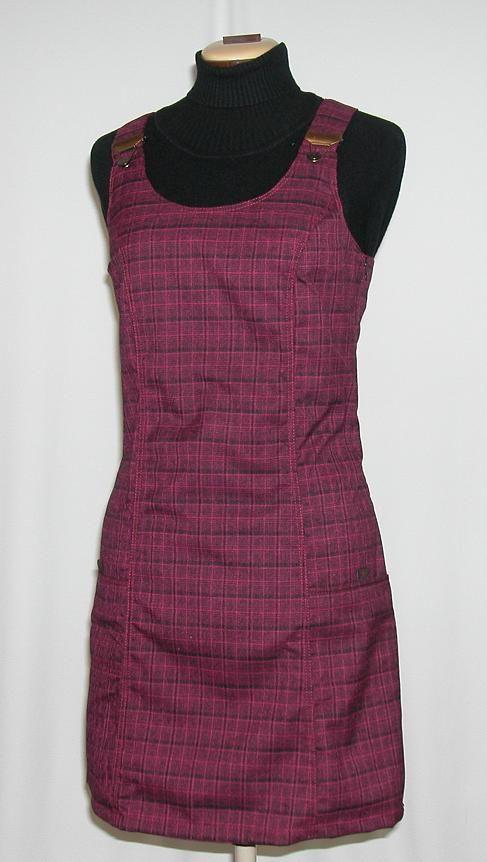 O.K. SPORT Dámské šaty Nepál (Polyester) Barva: Vínová, Velikost: M