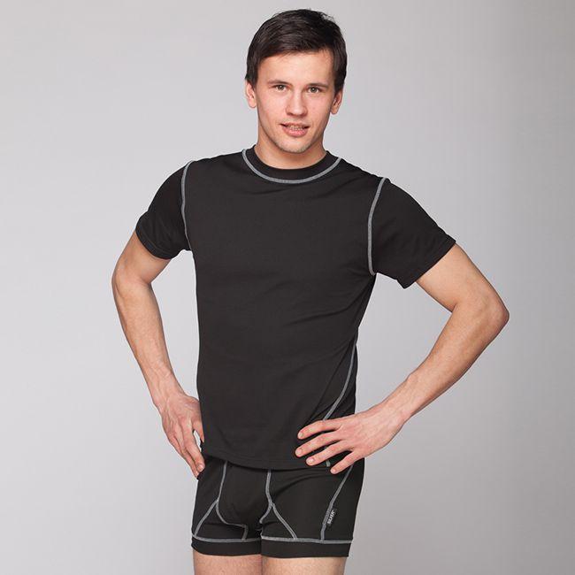 Silver+ Pánské sportovní tričko s krátkým rukávem Barva: Bílá, Velikost: S