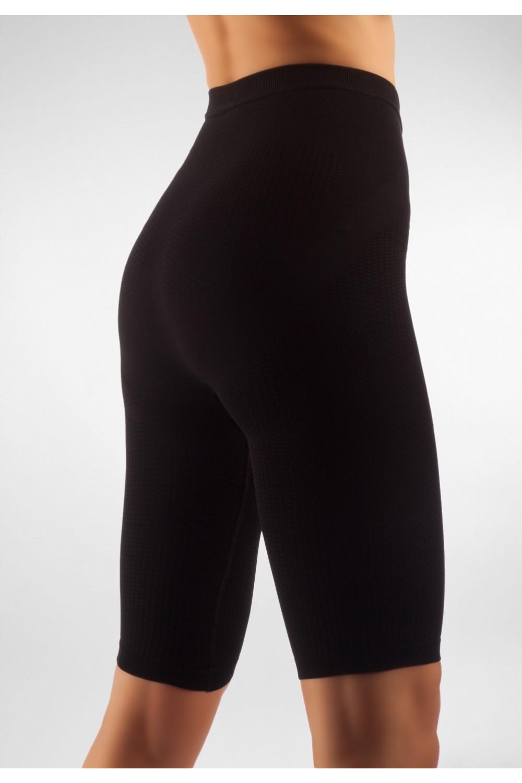 FarmaCell Masážní a zeštíhlující kalhotky nad kolena Barva: Černá, Velikost: M/L