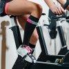 Sportovní kompresní podkolenky - černá + růžová